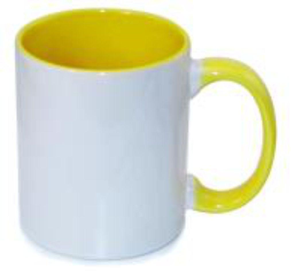 Kubek żółty