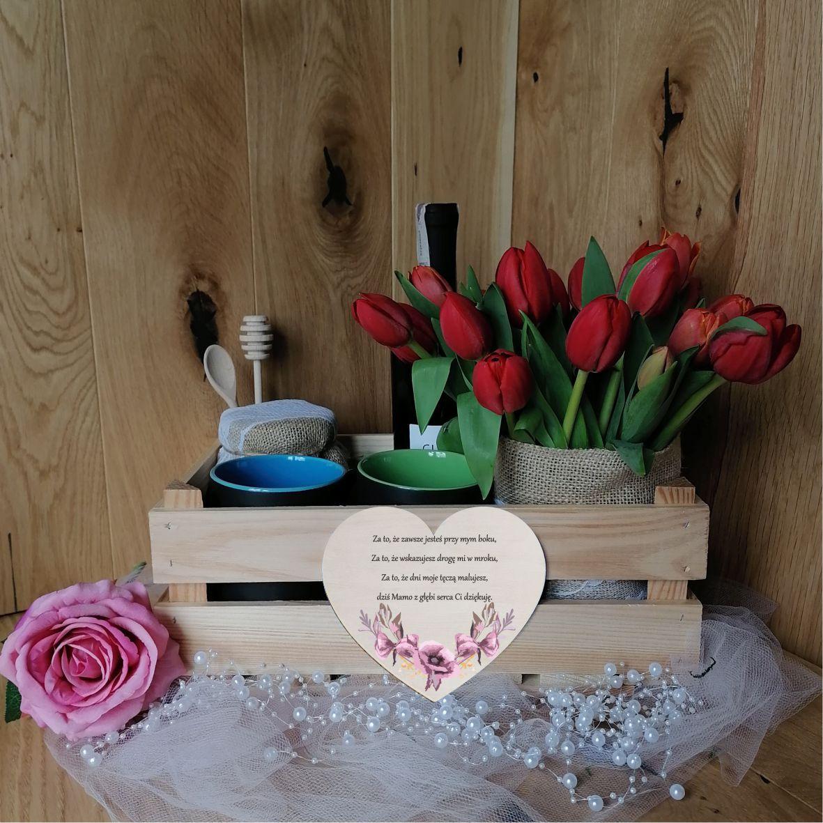 Skrzynka prezentowa różowa